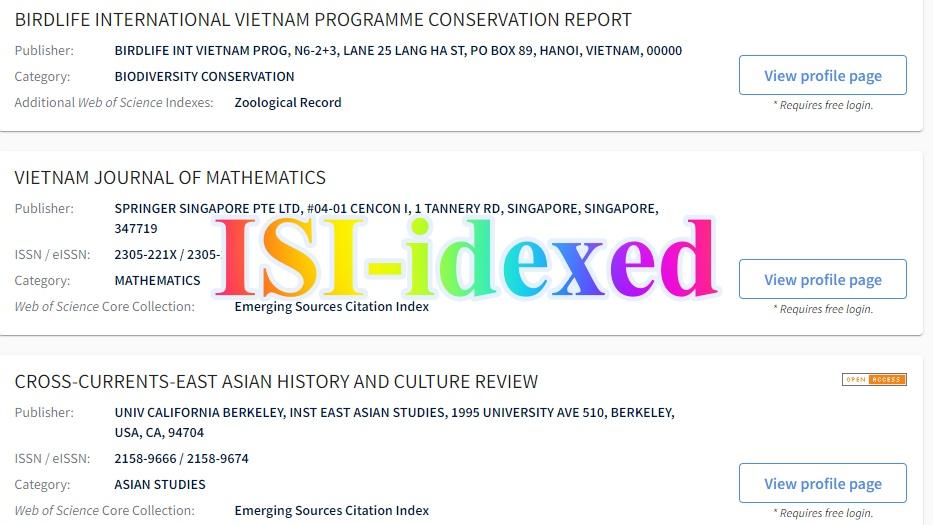isiindex - Dịch vụ hỗ trợ đăng bài báo quốc tế đạt chuẩn ISI-SCOPUS