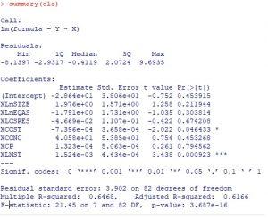 ols 300x246 - hồi quy ridge ước lượng lasso tính elastic